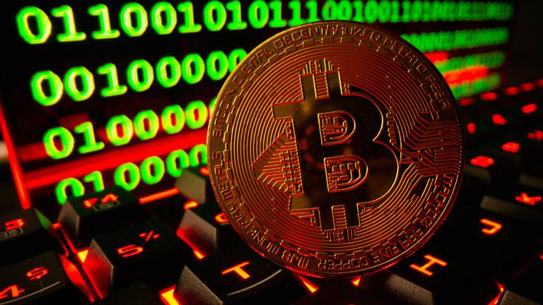 An image that illustrates this article Bitcoin falls as China intensifies crackdown on cryptocurrencies
