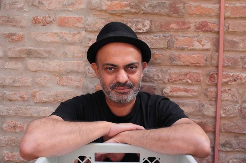 HPBCYB Portrait of Hassan Blasim 03/10/2015 ©Basso CANNARSA/Opale/AlAMY