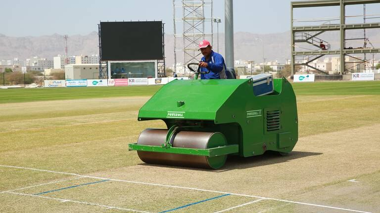 An image that illustrates this article T20 World Cup: Oman Cricket's Keralite curator ready for dream assignment