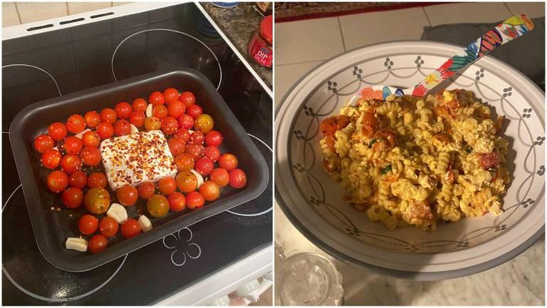 An image that illustrates this article Our verdict on TikTok's baked feta pasta dish