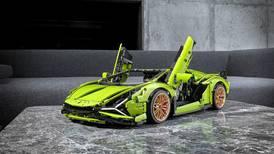 Blocks away: Lego releases miniature model of Lamborghini Sian FKP 37