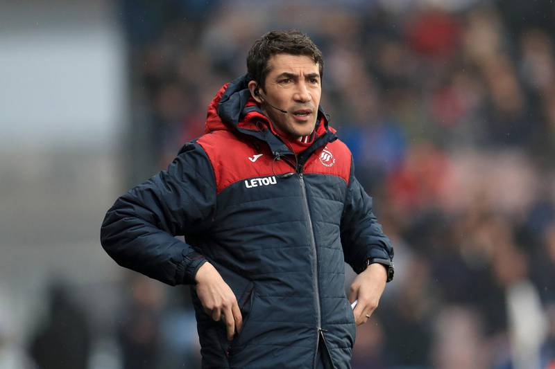 File photo dated 10-03-2018 of Swansea City First Team Coach Bruno Lage. Issue date: Wednesday June 9, 2021. PA Photo. Wolves have appointed Bruno Lage as their new head coach, the Premier League club have announced. See PA story SOCCER Wolves. Photo credit should read Mike Egerton/PA Wire.