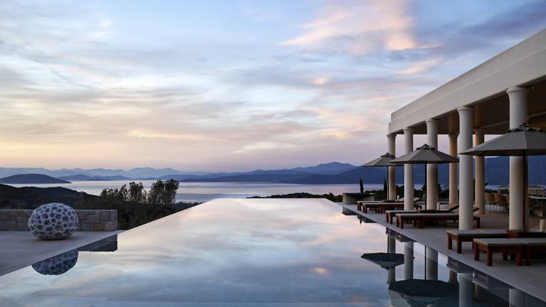 An image that illustrates this article Amanzoe villas - in pictures
