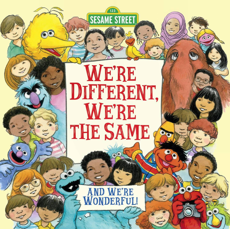 We're Different, We're the Same (Sesame Street) by Bobbi Kates. Courtesy Penguin Random House