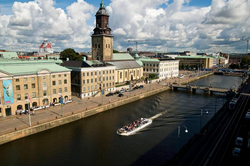 A handout photo of sightseeing on the canals in the city centre of Gothenburg, Sweden (Photo: Kjell Holmner) *** Local Caption ***  WK13SE-TR-MKOP-GOTHENBURG.jpg