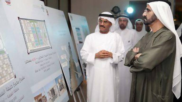 An image that illustrates this article Ruler of Dubai approves Dh1m housing loans for families