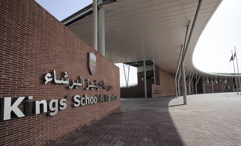 Dubai, 05, September,2017: Kings School Barsha. Satish Kumar for the National / Story by Nick Webster