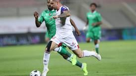 Igor Coronado scores four as Sharjah rout Khorfakkan in Arabian Gulf League