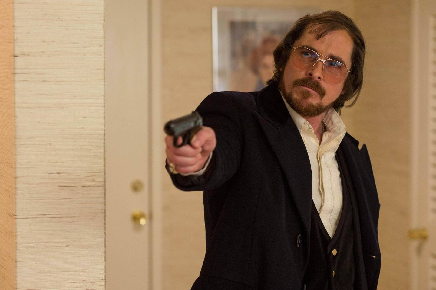 Christian Bale in American Hustle. Courtesy Columbia Pictures