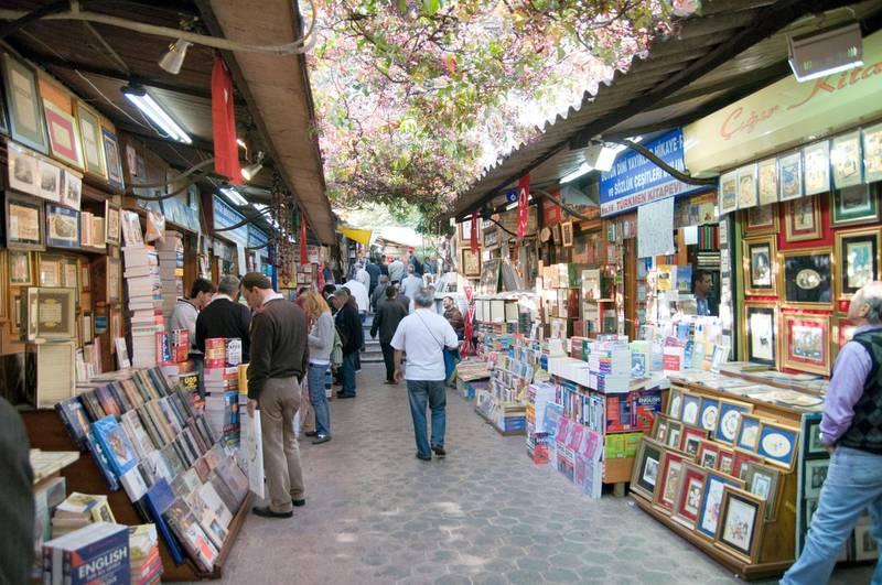 B5H0YC Turkey Istanbul Beyazit the Sahaflar book market
