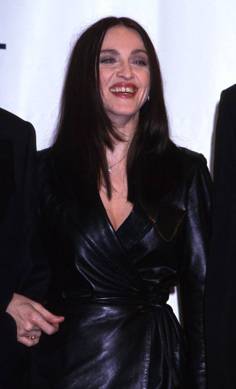 FILE PHOTO: Madonna at the GQ awards at Radio City Music Hall in New York City October 21, 1999. (Photo by Diane Freed)