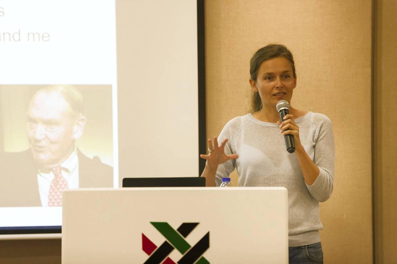 DUBAI, UNITED ARAB EMIRATES - NOV 11:Dorota Lewna, Board member of Bogelheads UAE.(Photo by Reem Mohammed/The National)Reporter: GilSection: NA
