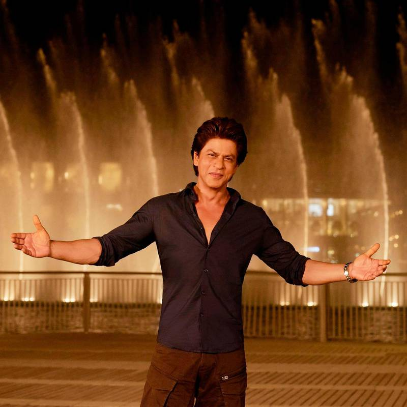 RESIZED. Shah Rukh Khan video. Courtesy Dubai Media