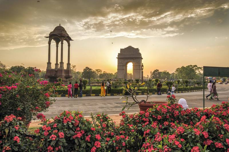 The India Gate is a war memorial to 82,000 soldiers of the undivided Indian Army who died in the period 1914-21 during the First World War.