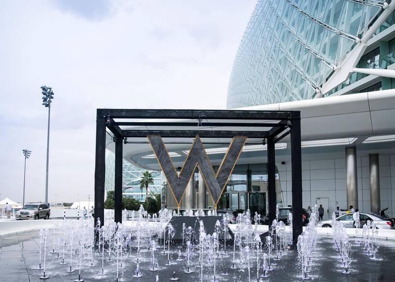ABU DHABI, UNITED ARAB EMIRATES. 21 NOVEMBER 2019.  W Abu Dhabi in Yas Island.(Photo: Reem Mohammed/The National)Reporter:Section: