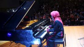 The curious case of Gaza's only grand piano