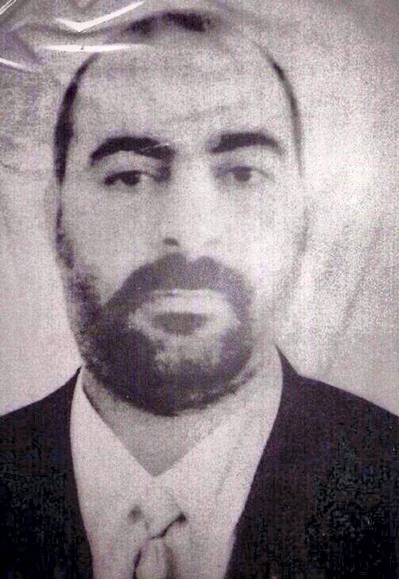 """A handout picture released by the Iraqi Ministry of Interior (MOI) shows a photograph purportedly of Abu Bakr al-Baghdadi, the leader of the Islamic State of Iraq and the Levant, an Al-Qaeda-linked group fighting in Iraq and Syria. Baghdadi's group has been blamed for a litany of attacks across Iraq in recent months, and has been involved in a deadly standoff with government forces in Iraq's western Anbar province. AFP PHOTO / MOI/ HO  == RESTRICTED TO EDITORIAL USE - MANDATORY CREDIT """"AFP PHOTO / HO / MOI"""" - NO MARKETING NO ADVERTISING CAMPAIGNS - DISTRIBUTED AS A SERVICE TO CLIENTS ==CAMPAIGNS - DISTRIBUTED AS A SERVICE TO CLIENTS == (Photo by HO - / IRAQI MINISTRY OF INTERIOR / AFP)"""