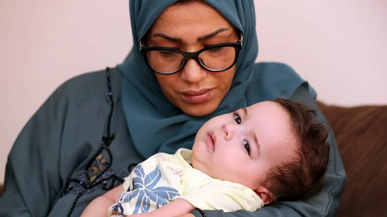 An image that illustrates this article Families hold out hope for Dh8m treatment to save children's lives