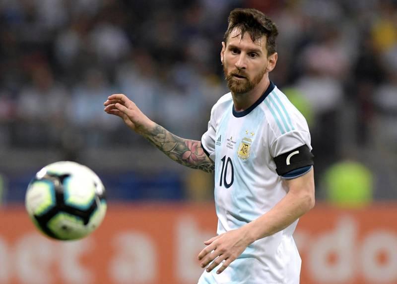 Soccer Football - Copa America Brazil 2019 - Group B - Argentina v Paraguay - Mineirao Stadium, Belo Horizonte, Brazil - June 19, 2019    Argentina's Lionel Messi in action             REUTERS/Washington Alves