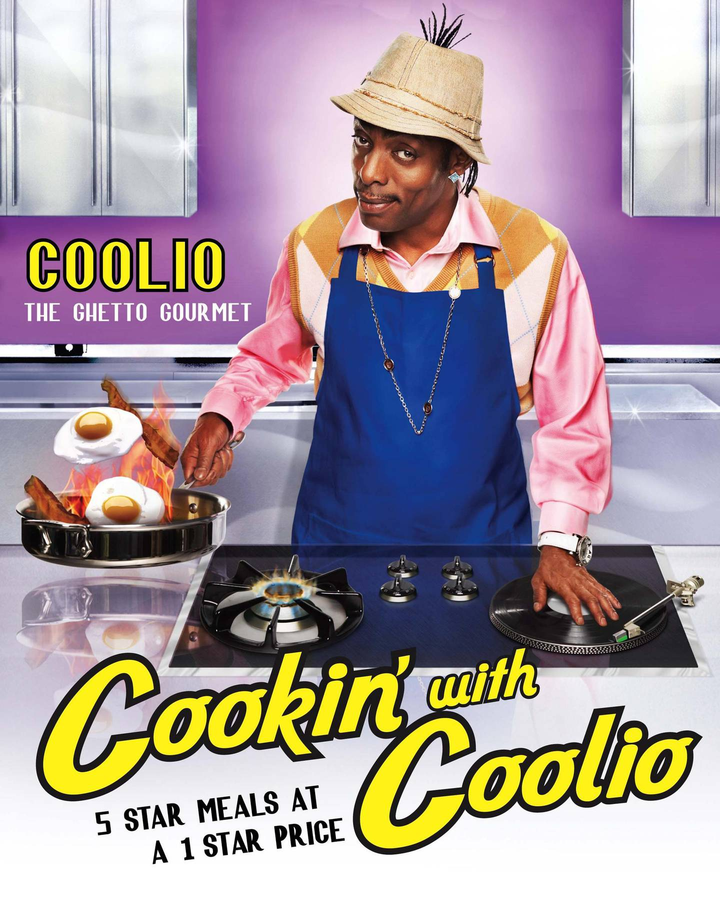 Cookin' with Coolio: 5 Star Meals at a 1 Star Priceby Coolio published by Atria Books. Courtesy Simon & Schuster