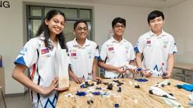 Prize-winning UAE pupils say climate change should top agenda in product design