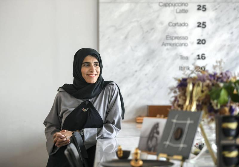 Abu Dhabi, United Arab Emirates - Emirati owner, Norman Al Banai runs a hidden gem coffee shop, ÔCoffee ArchitectureÕ in Mangrove Place, Al Reem Island. Khushnum Bhandari for The National