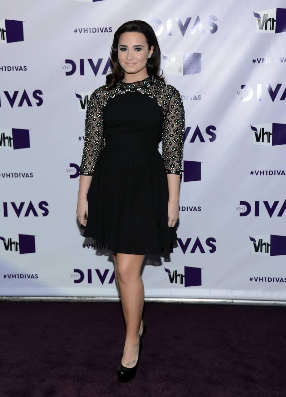 "LOS ANGELES, CA - DECEMBER 16: Singer Demi Lovato attends ""VH1 Divas"" 2012 at The Shrine Auditorium on December 16, 2012 in Los Angeles, California.   Michael Buckner/Getty Images/AFP"