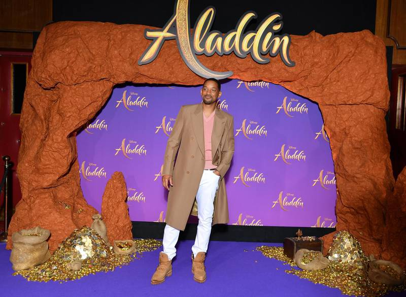 """PARIS, FRANCE - MAY 08: Will Smith attends the """"Aladdin"""" gala screening at Le Grand Rex on May 08, 2019 in Paris, France. (Photo by Pascal Le Segretain/Getty Images For Disney)"""