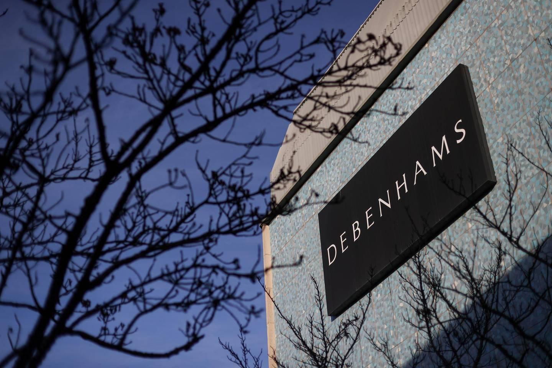 A view shows Debenhams' building amidst the outbreak of the coronavirus disease (COVID-19), in Hanley, Stoke-on-Trent, Britain December 1, 2020. REUTERS/Carl Recine
