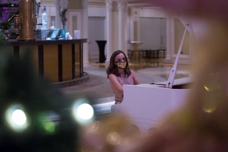 Ras Al Khaimah, United Arab Emirates: at Waldorf Astoria, Al Hamra Island, RAK.  Leslie Pableo for The National