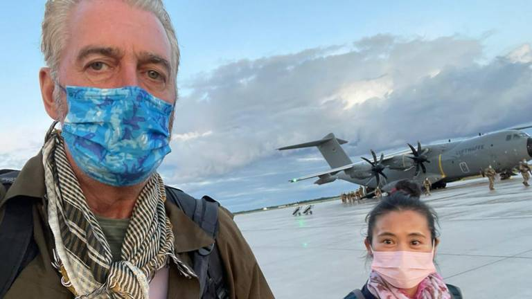 An image that illustrates this article How ex-special forces soldier 'Canadian Dave' helped hundreds escape Kabul