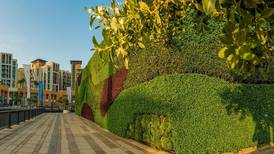 Region's largest living green wall unveiled in Dubai