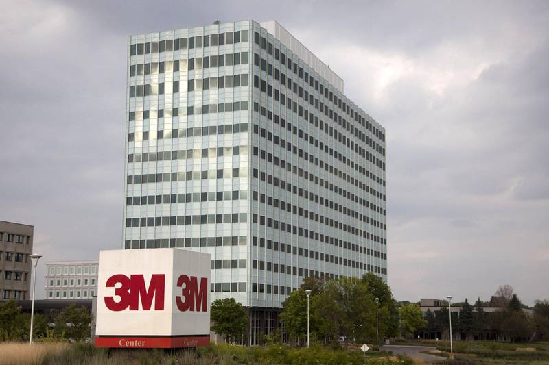 3M Co.'s corporate headquarters stand in St. Paul, Minnesota, U.S., on Tuesday, Aug. 20, 2013. Minnesota's real GDP grew 3.5 percent in 2012 and was ranked fifth in growth after North Dakota, Texas, Oregon and Washington. Photographer: Ariana Lindquist/Bloomberg