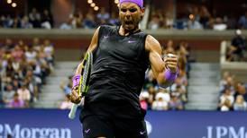 US Open: Rafael Nadal has Tiger Woods roaring after reaching quarter-finals