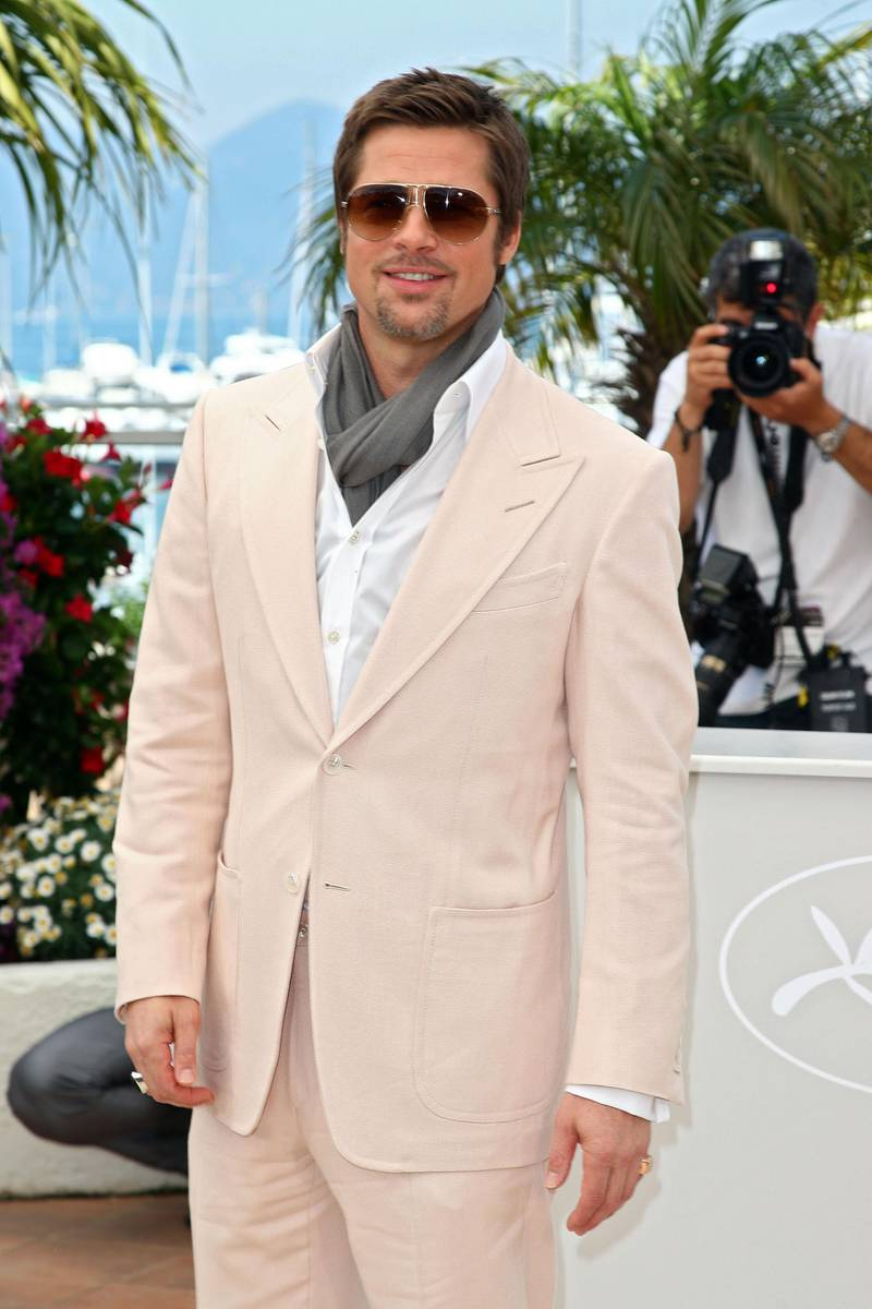 CANNES, FRANCE - MAY 20:  Actor Brad Pitt attends the Inglourious Basterds Photocall held at the Palais Des Festivals during the 62nd International Cannes Film Festival on May 20, 2009 in Cannes, France.  (Photo by Gareth Cattermole/Getty Images)