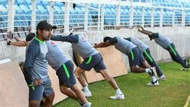 Pakistan train for Windies Test series after T20 win - in pictures