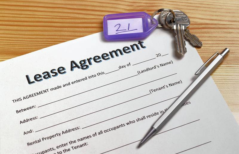 A rental contract will determine whether a tenant is able to end the lease early and if any penalties will apply. Getty Images