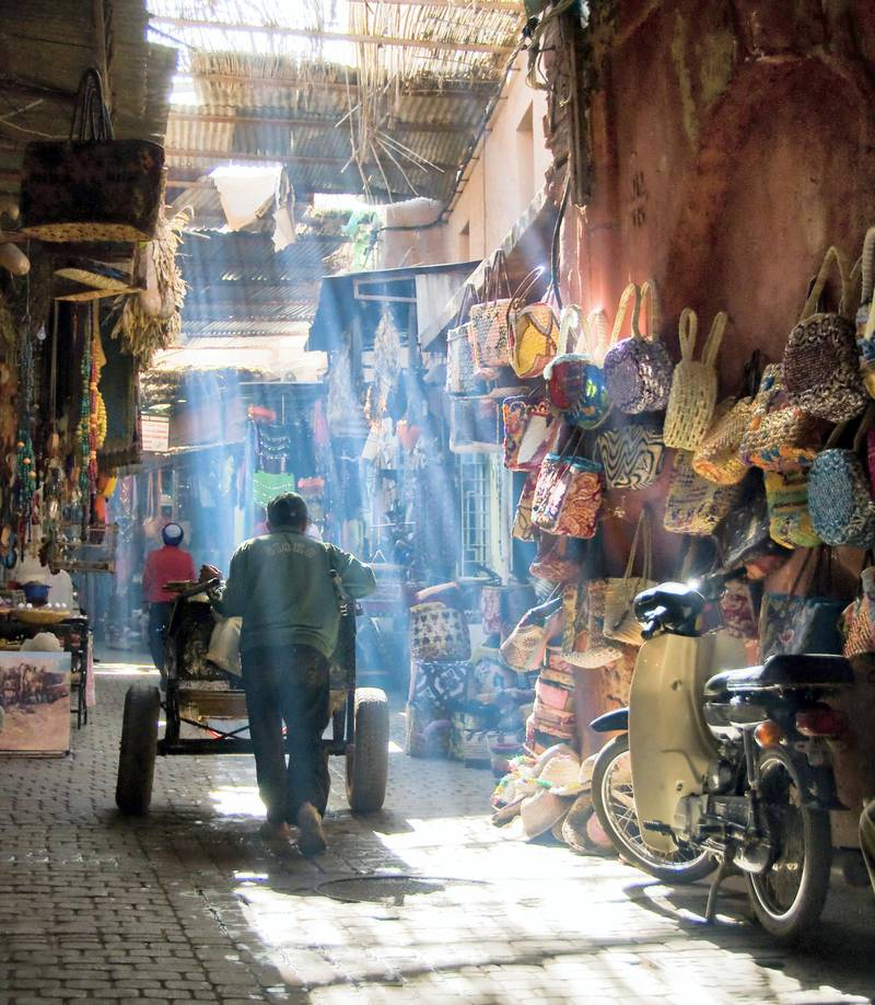 [UNVERIFIED CONTENT] The Medina of Marrakech, a place of colors, amazing light, vibrance, people, trade tourists, smell, food and much more...