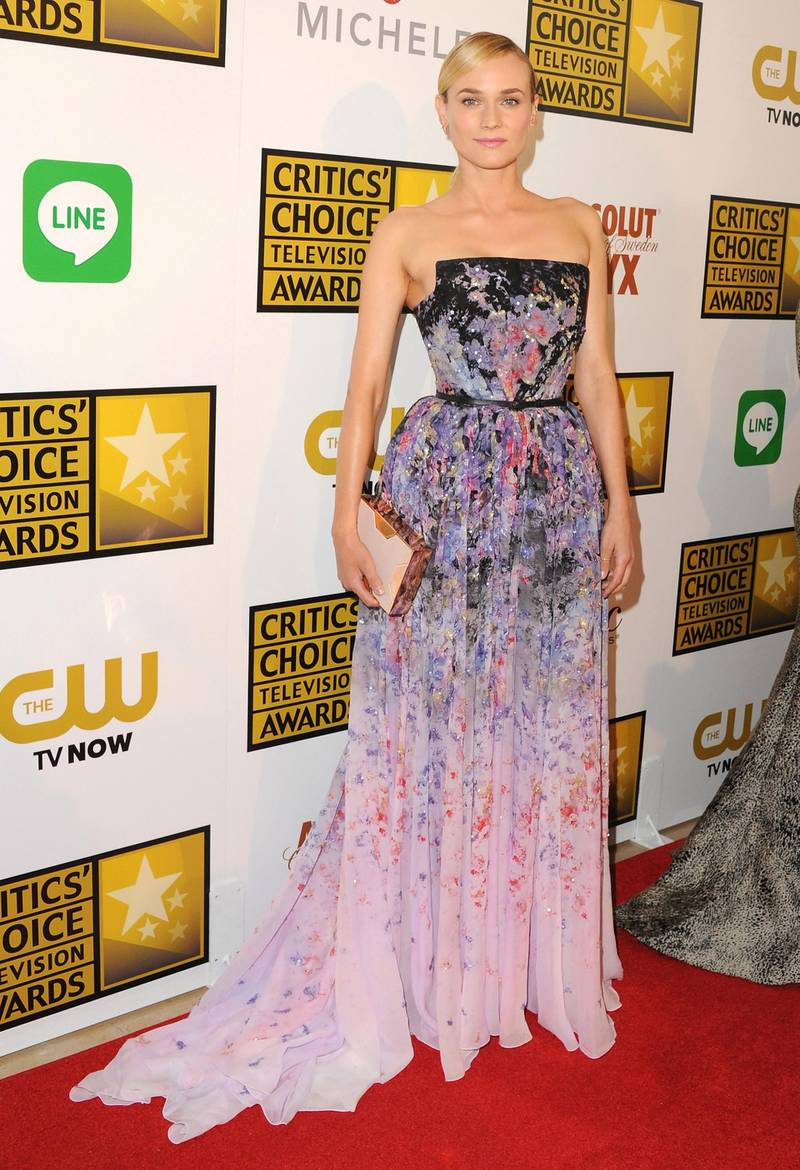 BEVERLY HILLS, CA - JUNE 19:  Actress Diane Kruger arrives at the 4th Annual Critics' Choice Television Awards at The Beverly Hilton Hotel on June 19, 2014 in Beverly Hills, California.  (Photo by Jon Kopaloff/FilmMagic)