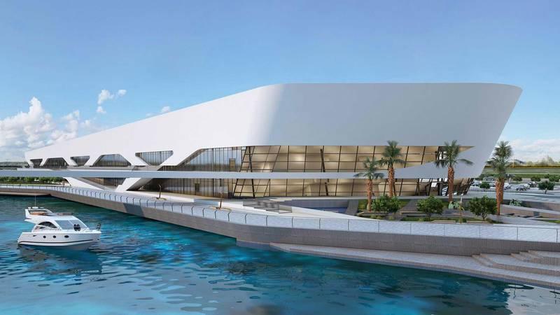 Al Qana - Aquarium. Courtesy Department of Urban Planning and Municipalities and Al Barakah International Investment