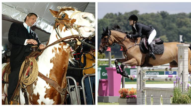 An image that illustrates this article 14 celebrity equestrians: Bella Hadid, Russell Crowe, Kaley Cuoco and more