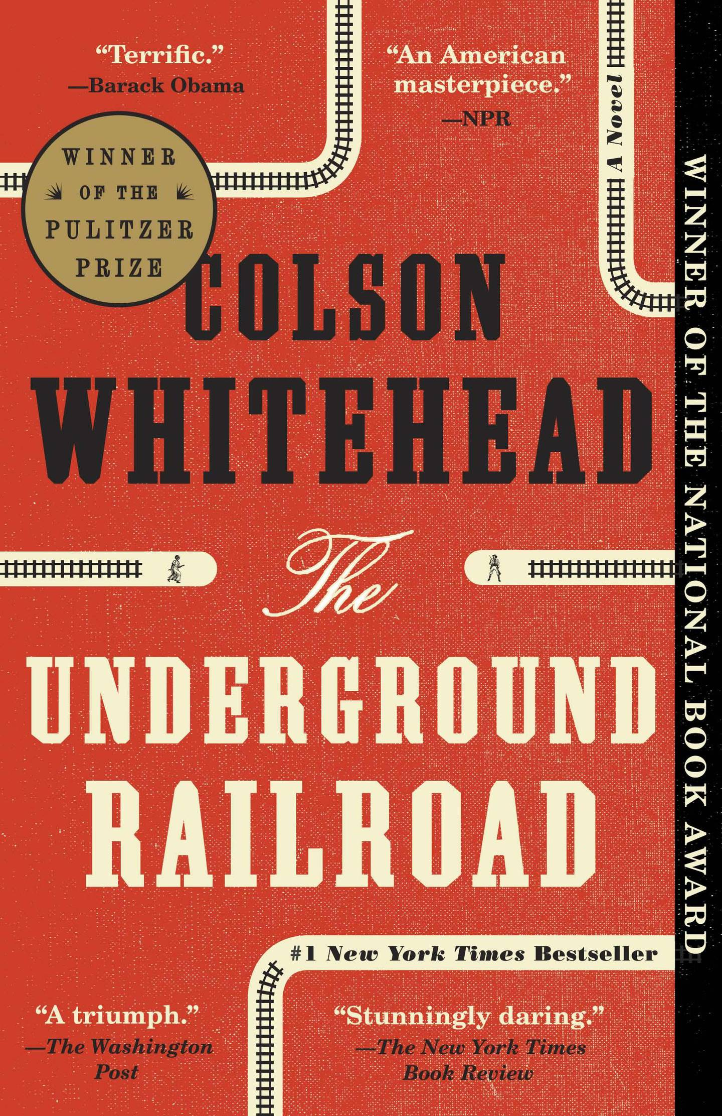 The Underground Railroad by Colson Whitehead published by Doubleday. Courtesy Penguin Random House