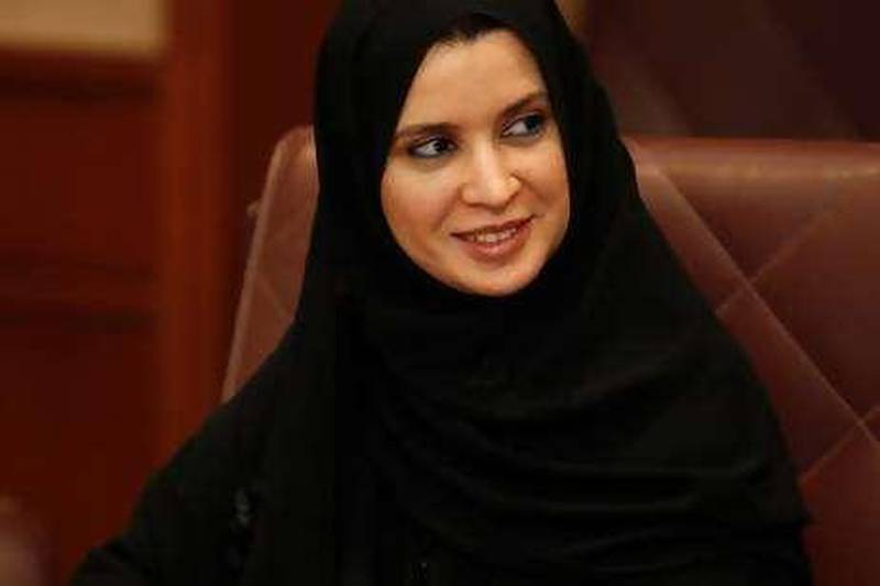 ABU DHABI, UNITED ARAB EMIRATES Ð March 17, 2008: Amal Abdullah Jomaa Al Qubaisi, Member of the United Arab Emirates, Federal National Council speaks with members of the U.S. House of Representatives and Congress. (Photo by Ryan Carter / The Nation)  *** Local Caption *** al21-influential8.jpg