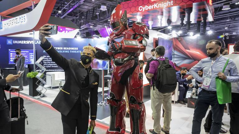 An image that illustrates this article Gitex 2021: The 'technology octopus' has changed our post-Covid lives forever