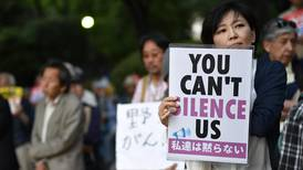 Japanese protest over passes controversial anti-terror law