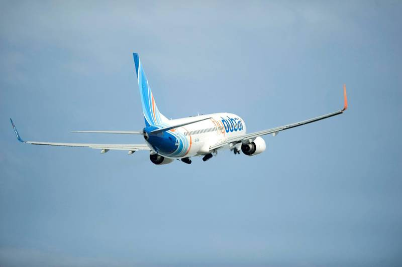 Flydubai 737-800 Takeoff K64685-06