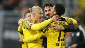 Erling Haaland nets double on comeback as Borussia Dortmund go top of Bundesliga