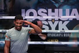 Anthony Joshua set for 'toughest ever fight' against Oleksandr Usyk