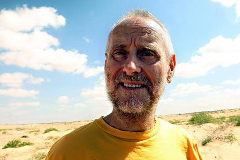 """A photo made on January 28, 2010 shows Briton Paul Chandler at a location in central Somalia, where he is being held since he and his wife Rachel were kidnapped as they sailed their yacht, the Lynn Rival, in the Indian Ocean on October 23, 2009. Since they were captured by Somali pirates, the Chandlers were brought ashore and have been held in central Somalia.  A respected Somali doctor, Abdi Mohamed Helmi """"Hangul,"""" who was allowed to briefly examine the hostages on January 28 said both Paul and Rachel were sick and risked getting worse if no assistance was organized soon. The pair are being held in separate locations in rugged areas between the coastal village of Elhur and the small town of Amara, further inland.   AFP PHOTO/MOHAMED DAHIR"""