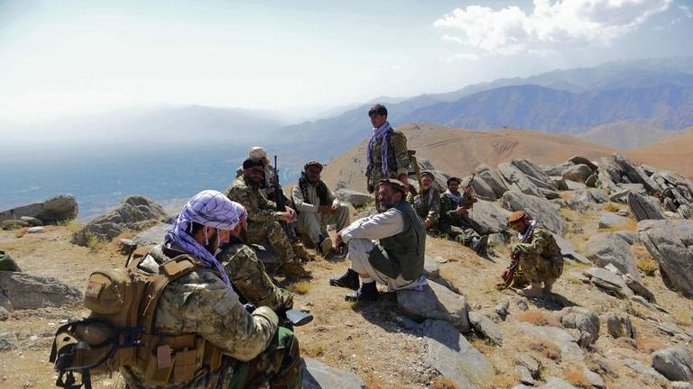 An image that illustrates this article Last remaining Panjshiris cling to hope as Taliban fighters move into valley